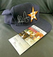 Nolan Ryan Signed Astro Cap Hat with JSA COA