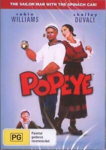 Popeye DVD Robin Williams New and Sealed Australia