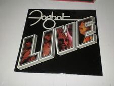FOGHAT - LIVE - ORIG 1st US PRESS DIE-CUT COVER BEARSVILLE 1977 - OIS - NM/VG++