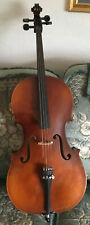 Half Size 1/2 Beginners Cello:With Bow and Soft Carry Case:10years old: Chestnut