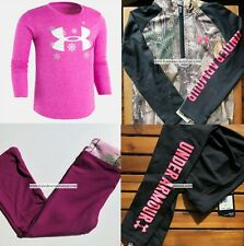 New listing Under Armour Girls 4T Winter Leggings Realtree Yoga Bottoms Tops NEW $125