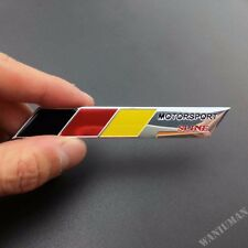 Aluminum Motorsport Sline Emblem Badge Decal Sticker For Audi Q A TT Quattro