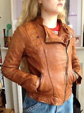 PEPE JEANS WOMENS  LEATHER JACKET