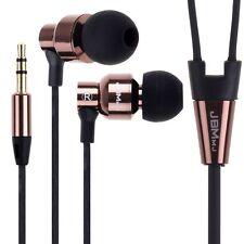 3.5mm Stereo In-Ear Metal Earphones Headset Headphone Earbud for iPhone Samsung