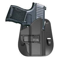 Details about  /Holster For Ruger LC9 LC380 EC9S 3.12/'/' Barrel Open Carry Holder 60° Adj Paddle