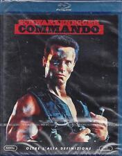 Blu-ray Disc **COMMANDO**con Arnold Schwarzenegger Nuovo sigillato 1985