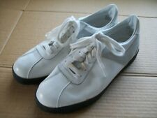 Pony Mens 10 White Leather Athletic Shoes 1010 601 JP