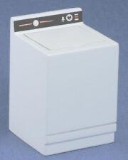 Dollhouse Miniatures 1:12 Scale Washer, White #CLA12001