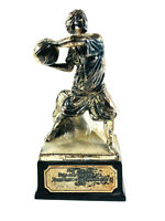 Antique 1930's Zenda Kansas KS Girl's woman Basketball Trophy sports nice