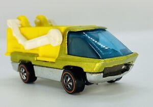 1971 Redline Heavyweights SCOOPER Yellow Near Mint Gem! Mirror-like Base! CHERRY