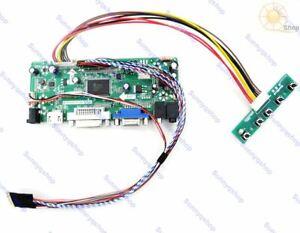 HDMI+DVI+VGA LCD Controller Driver Board Monitor Kit for HSD100IFW1-F01 1024X600