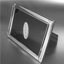 STARLING * FLEUR-DE-LIS ELEGANTER MASSIVER  FOTORAHMEN 925 STERLING SILBER10x15