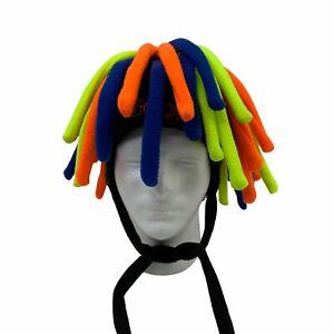 Goofy Beanie Colorful Fringe Disney Adult One Size Funny Swirl Gag Gift Casual