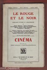 CINEMA. Scénario, études, chroniques/ A.Gance, J.Epstein...Edition Originale1928