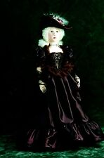 """*NEW* CLOTH ART DOLL (PAPER) PATTERN """"AMBER"""" BY SYLVIA SCHORR"""