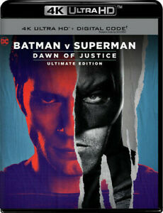 Batman V Superman: Doj Ue 4K Ultra HD Blu-ray