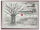 prison art drawing, Adam & Eve, The reality of the tree that held Eve's Apple
