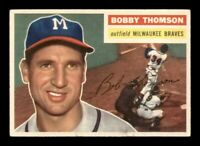 1956 Topps Set Break # 257 Bobby Thomson VG-EX *OBGcards*