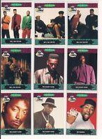 1991 Pro-Set Yo! MTV Raps Music Trading Cards U Pick / Choose From List CHOICE
