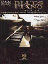 Blues Piano Legends Piano Sheet Music Book Artist Transcriptions