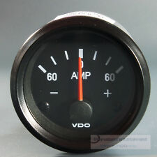 VDO  AMPEREMETER  INSTRUMENT *LED EDITION* GAUGE 60A  Cockpit international