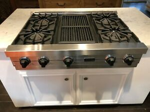 Viking Professional VGRT360 Natural Gas Cooktop