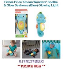 Fisher-Price 'Ocean Wonders' Soothe & Glow Seahorse (Blue) - Glowing Light