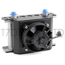 115mm 16 Row Oil Cooler Fan Shroud Kit Pull Fan - Engine, Transmission, Gearbox
