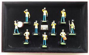 W Britain United States Army Band of Washington DC (5391) 10 piece set