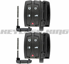 2 Remote Key Fob Shell Pad Case Only for 2008-2012 Land Rover LR2 NT8-TX9