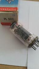 PL508 Telefunken  tested good on Funke W19S  Röhren / tubes Nr.C14