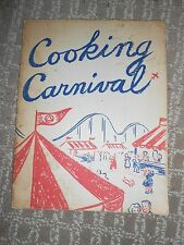 COOKING CARNIVAL-HOME ECONOMICS/PUBLIC SERVICE ELECTRIC & GAS 1954 PB 32 PGS