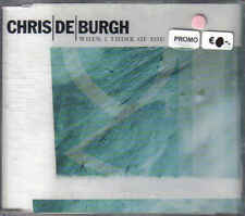 Chris de Burgh- when i Think of you promo cd single sealed