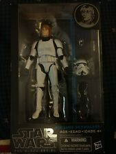"Star Wars Black Series #12 ""Luke Skywalker"" (Stormtrooper) 6 In Action Figure"