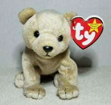 TY Beanie Baby Retired Almond The Bear