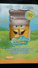 Spongebob Squarepants Yule Tide Bobber Christmas 2002 Limited Edition Universal