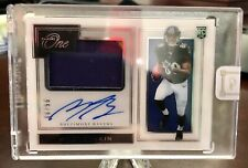 2019 PANINI ONE PREMIUM RPA JERSEY PATCH AUTO ROOKIE  MILES BOYKIN #/99 RC