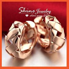 Copper Hoop Clip - On Fashion Earrings