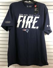 New England Patriots Under Armour Training Fire Combine Authentic Size Large