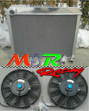 radiator & fans for 1963-1966 Chevrolet Panel Truck C10 C20 C30 PONTIAC OLDS CAR