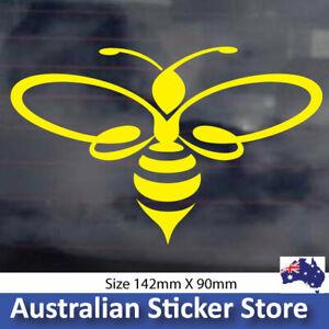 CUTE YELLOW BEE  sticker decal, cute car sticker window decal
