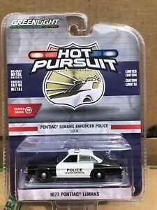 Greenlight  Hot Pursuit 1977 Pontiac Lemans Enforcer  Police