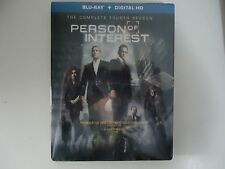 Person of Interest:Complete Fourth Season (Blu-ray, 2015, 4-Disc) NEW w/slipcase