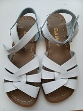 Saltwater sandals-.White  size 1 UK New boxed