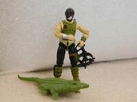 Vintage GI Joe Action Figure 1987 Croc Master