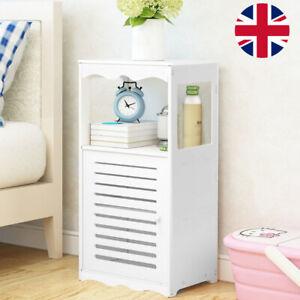 Freestanding Floor Cabinet Bathroom Vanity Storage Unit Cupboard Home Discount