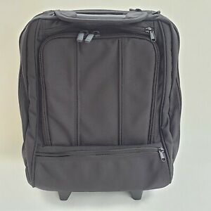 Brenthaven Rolling Laptop Bag Black Carry On Wheeled Business Travel Luggage 16""