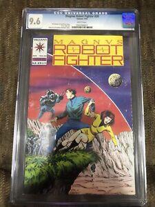 Magnus Robot Fighter 20 CGC 9.6 1993 Direct Market Edition DM Valiant Comics