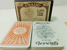 Vintage Shackman The Great Card Game Trains No. 1904 - Inc Box & Instructions