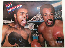 Muhammad ali autographed auto signed program vs. Ken Norton 1976 Beckett COA